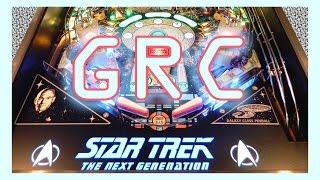 STAR TREK NEXT GENERATION Pinball Machine ~ STTNG ~ GRC Gameplay Archive! Final Frontier!