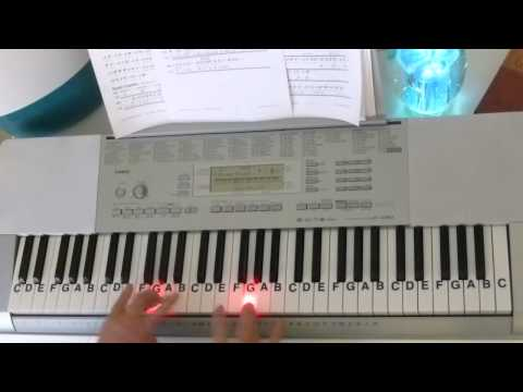 How To Play ~ I've Been Working On The Railroad ~ American Folk Song ~ LetterNotePlayer ©