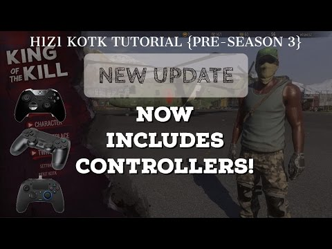 {H1Z1 Tutorial} - Controller/Joystick Setup with New Update! (NO ADD-ONS NEEDED!!)
