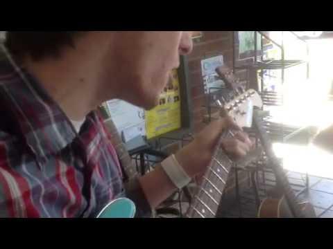 Jason Burke doing a Dylan tune