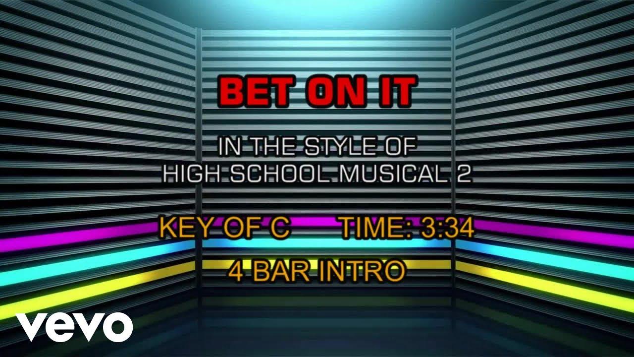 Bet on it karaoke instrumental tracks martingale roulette betting strategy