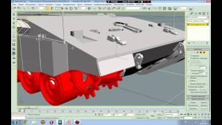 Создание танка для NeoAxis. 1 часть
