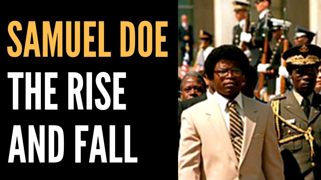Download The Rise and Fall of Samuel Doe: The Former Leader of  Liberia   African Biographics