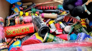 💣💥BIG JAMBO BANG IN THE MOUNTAIN OF SNOW ❄️❄️❄️BOX OF BOMBOS 📦💥💣BEST BIG FIRECRACKERS🔴PART 3