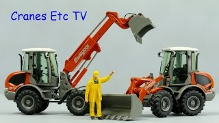 NZG Weycor AR 65e and AR 75e T Wheel Loaders by Cranes Etc TV