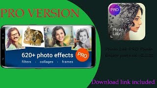 Photo Lab Pro Photo Editor Latest Version [Patched] + Download link