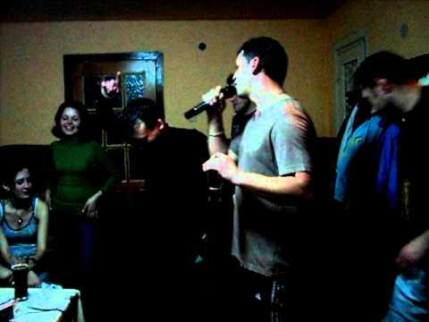 karaoke de cabana (straja)-cine-a pus carciuma-n drum