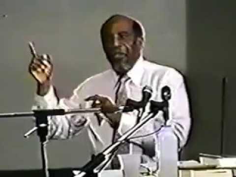Dr  Marcus Garvey Jr the Arab slave trade