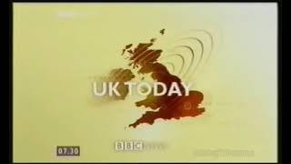BBC Breakfast, handover to Regional News - January 2002