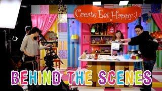 Behind The Scenes of Kawaii Kitchen 撮影の舞台裏 (YouTube Space Tokyo) - OCHIKERON - CREATE EAT HAPPY