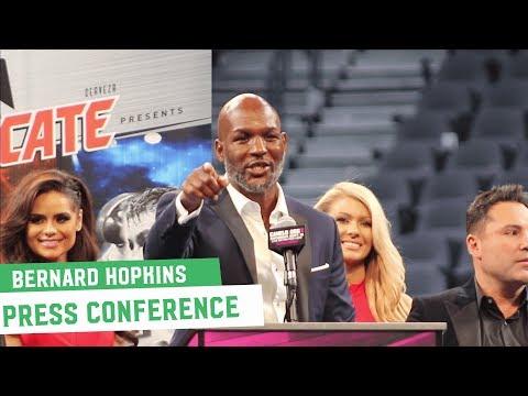 Canelo Vs. GGG 2 || Bernard Hopkins Post-Fight Press Conference