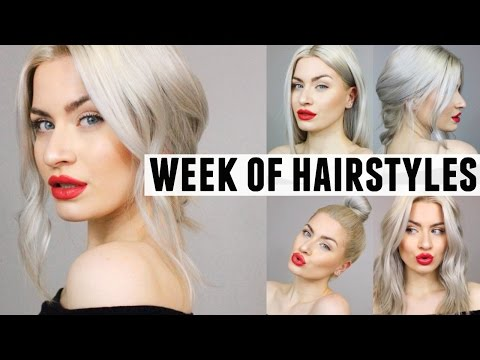 EASY HAIRSTYLES FOR MONDAY TO FRIDAY! | LYSSRYANN ♡