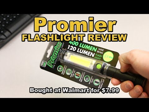 promier-flashlight-review-bought-at-walmart-for-cheap!-(discounted)