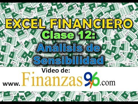 Análisis de Sensibilidad - Clase 12 - Excel Financiero