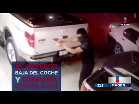 Así atacaron a balazos a una familia en Apodaca   Noticias con Ciro Gómez Leyva