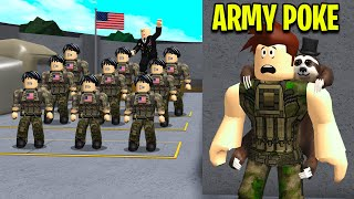 I Joined The BLOXBURG ARMY.. General Was CLONING Soldiers! (Roblox)