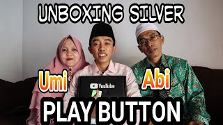 #UNBOXING Silver Play Button sama Abi Umi.