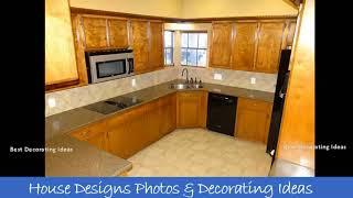 Corner Kitchen Sink Cabinet Designs | Modern Style Kitchen Decor Design Ideas & Picture