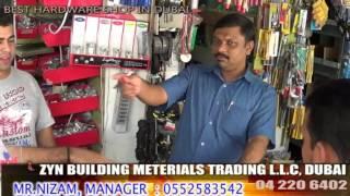 Building Materials In Dubai, Mr.nizam Shop, Zyn Trading Llc, Branded Building Products
