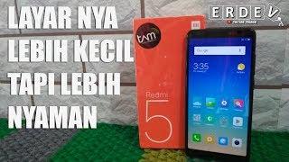Layar Kecil Lebih Nyaman - Unboxing Xiaomi Redmi 5 Indonesia