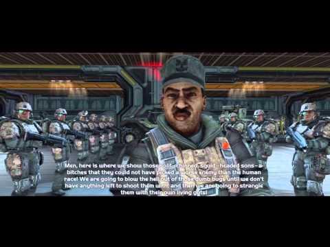 Halo: CE Anniversary - Sgt.Johnson's Speeches [HD]