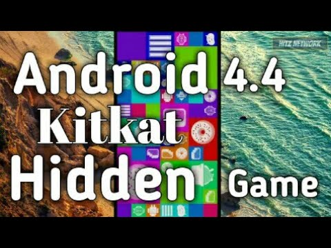 Android 4.4 KitKat Hidden Game