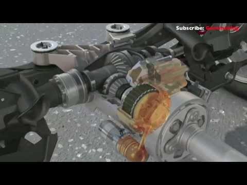 Volkswagen Golf 7 4motion - How System Works