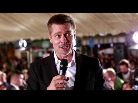 Allied: Brad Pitt Movie Premiere Interview