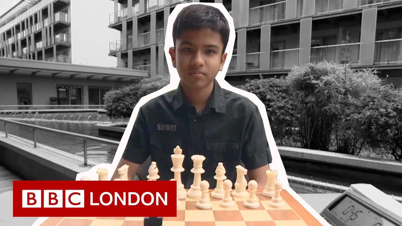 Britain's 12-year-old chess champion