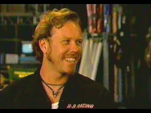 Metallica  Making The  Of The Memory Remains 1997 MTV Broadcast