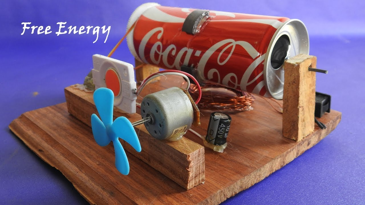 how to create free energy device