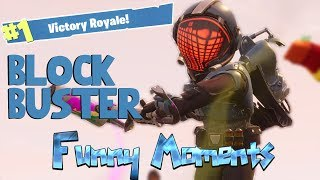 "*NEW* ""BLOCKBUSTER"" SKIN IN FORTNITE BATTLE ROYALE (Funny Moments) - Fortnite Battle Royale"