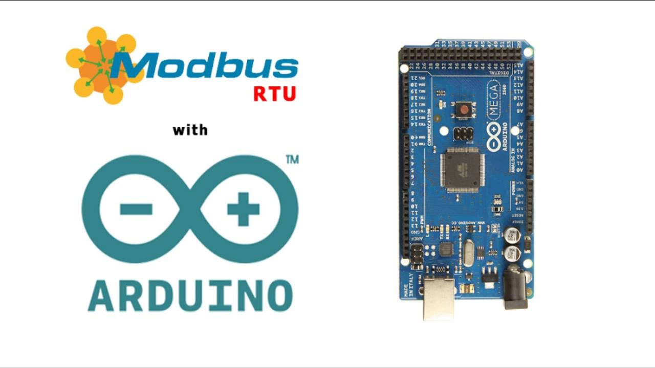 Arduino Modbus RTU Slave Simple Example How to try modbus algorithm with  arduino