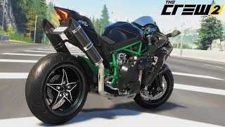 The Crew 2 Kawasaki Ninja H2 Gameplay