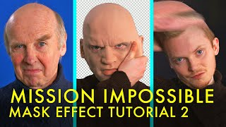 Mission Impossible MASK EFFECT Tutorial | After Effects Puppet Tool