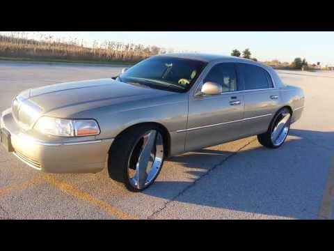 02 Lincoln Town Car 24 Inch One Blades