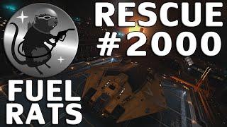 Fuel Rats - Rescue #2000 (Elite: Dangerous)