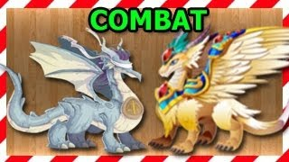 Archangel Dragon and Justice Dragon Attacks in Combat Video