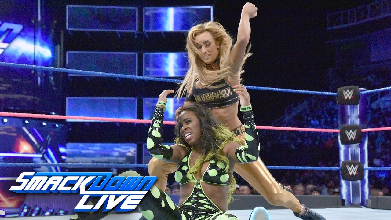 Image result for carmella vs. Naomi
