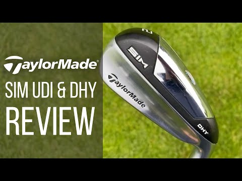 TAYLORMADE SIM UDI & DHY DRIVING IRONS REVIEW