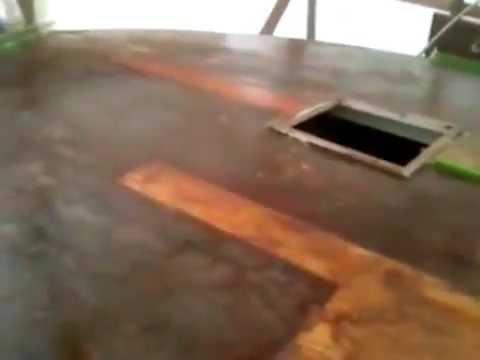 Fiberglass Boat Repair, Wooden Yacht Bow Deck, System 3 Silvertip Epoxy