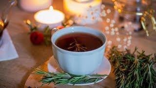 Дождь и ароматный чай с розмарином. Видео для вдохновения.