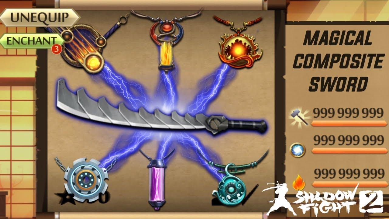 Shadow Fight 2 Magical Composite Sword : LightTube