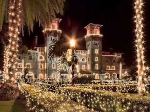 St. Augustine Florida's NIghts of Lights - YouTube