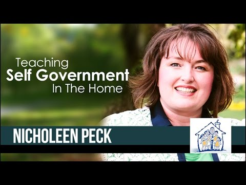 Nicholeen Peck from Teaching Self-Government