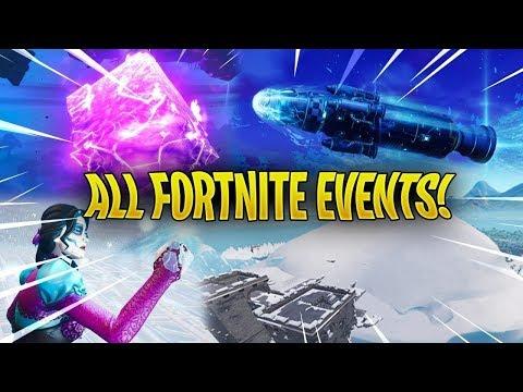Every Fortnite Live Event So Far..! - (Season 1 - Season 12)