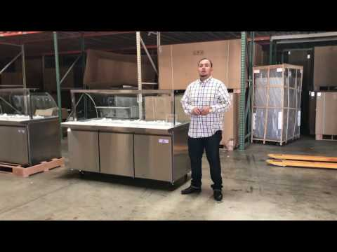 72-ins-refrigerator-cold-salad-table-buffet-table-sauces-station