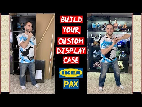 🔨🛠🔧 PART 1 - Build Your Custom Display Case - IKEA Pax Display Case Build