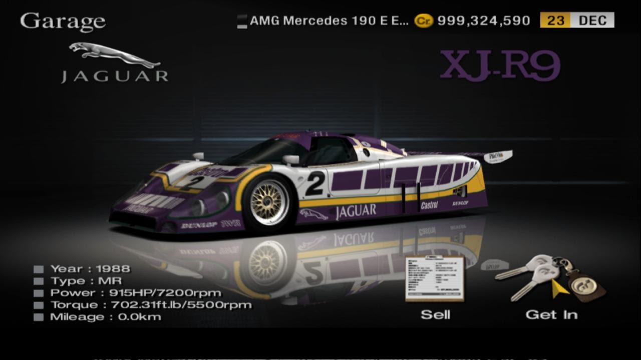 Gran Turismo 4 - Jaguar XJR-9 - Midfield - Gameplay HD ...