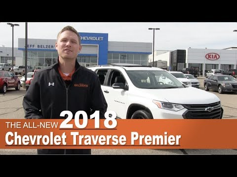 All-New 2018 Chevrolet Traverse Premier Redline | Lakeville, New Prague, Mpls, St Paul, MN